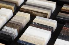 A Set Of Samples Of Acrylic Ar...