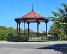Bandstand In A Park In Corfu T...