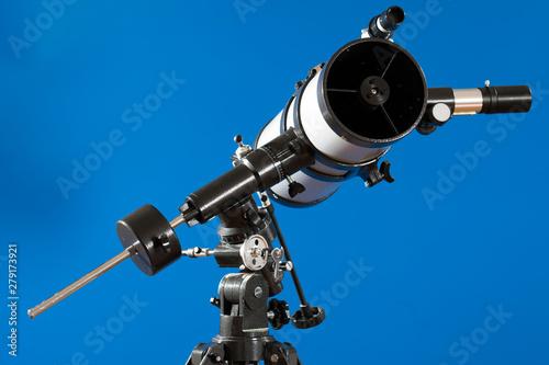 Deurstickers Graffiti collage Amateur astronomical telescope