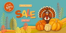 Thanksgiving, Sale. Advertisin...