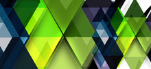 Colorful Repeating Triangles M...
