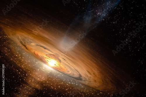 Photo Abstract space wallpaper