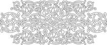 Celtic Pattern Ornament Decora...