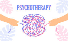 Psychotherapy Concept With Two...