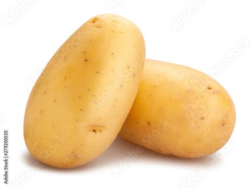 white potatoes Wallpaper Mural