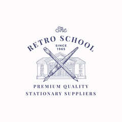 The Retro School Suppliers ...