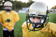 Portrait Of American Football ...