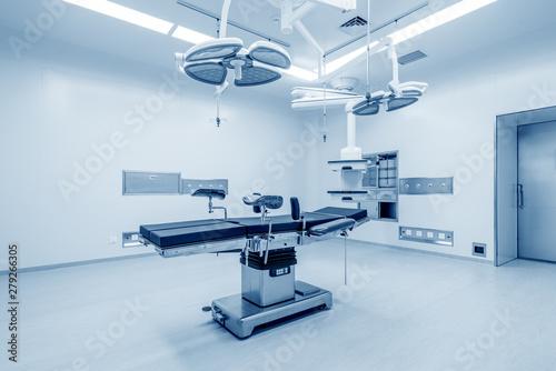 Fotografía Interior of operating room in modern clinic