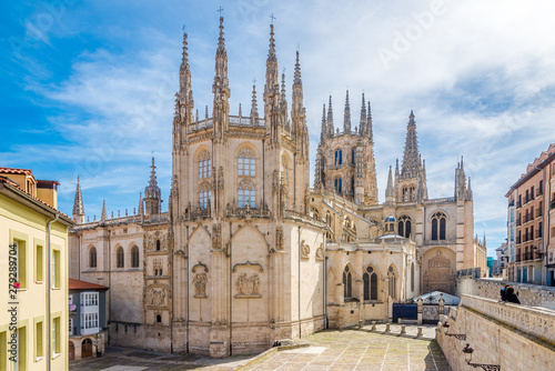 View at the Chapel of Cathedral of Saint Mary in Burgos - Spain