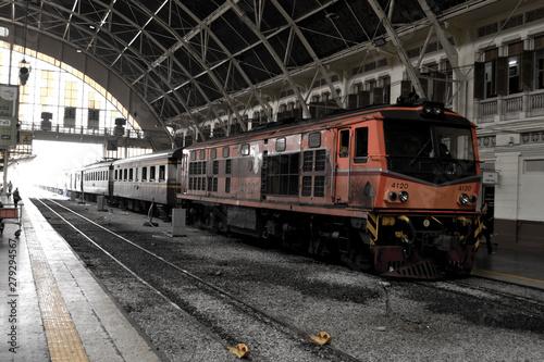Fototapety, obrazy: Boma train