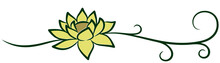A Symbol Of The Stylized Lotus...