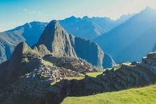 Vista Del Machu Picchu Al Aman...