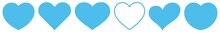 Heart Light Blue | Love | Logo...