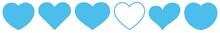 Heart Light Blue | Love | Logo | Variations