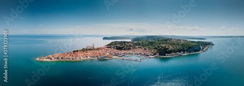 Photo Panorama Aérien de Piran en Slovénie
