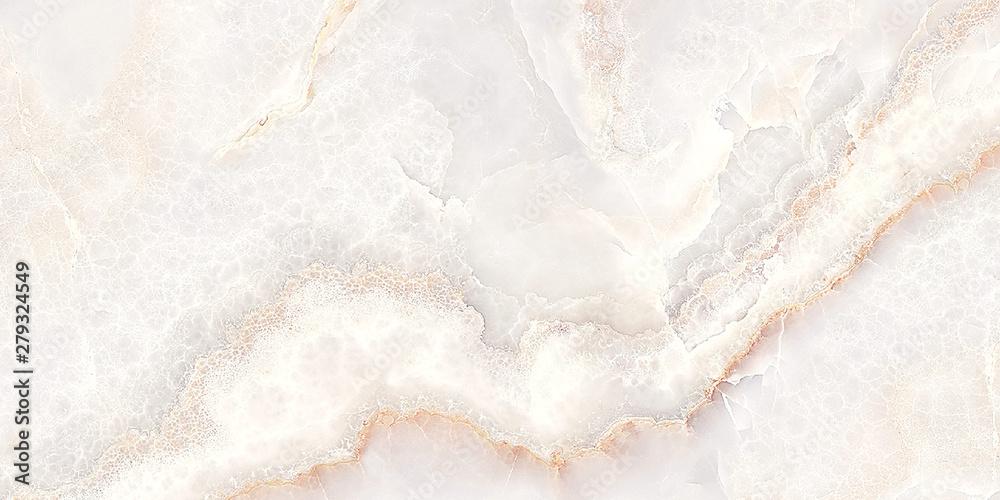 Fototapeta white onyx marble background, white marble texture