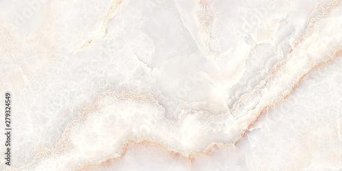 Fototapeta white onyx marble background, white marble texture obraz