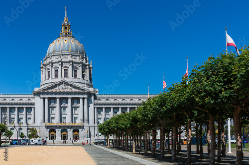 Tela San Francisco City Hall Skyline