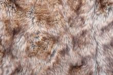 Closeup Of Wolf Fake Fur Texture