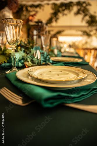 Obraz na płótnie table dressing