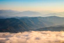 Mountain View And Mist, Sri Na...