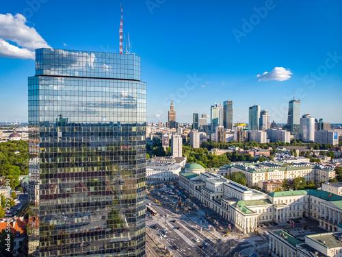 Obraz Warszawa - plac Bankowy - fototapety do salonu