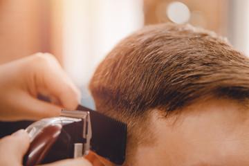 Barber master hairdresser d...