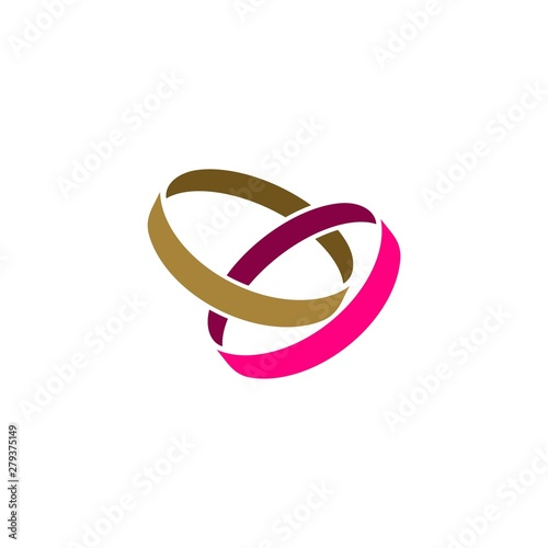 wedding ring logo template illustration design vector eps 10 buy this stock vector and explore similar vectors at adobe stock adobe stock adobe stock