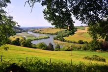 River Dart View Near Totnes, Devon