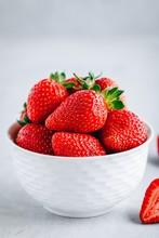 Fresh Ripe Delicious Strawberr...