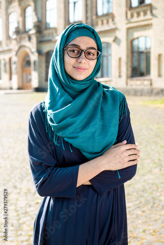 Of hijab pics girls wearing Four Women