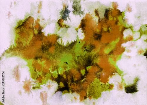Papiers peints Affiche vintage Abstract texture background. Handmade watercolor.