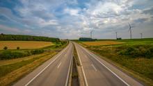 Autobahn In Einer Weiten Lands...