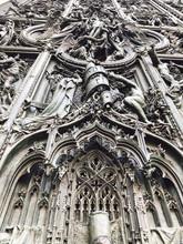 Milan Cathedral Sculptures Detail