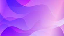 Background Texture Lines, Wave. For Flyer, Brochure, Booklet And Websites Design Vector Illustration With Blue Purple Color Gradient.