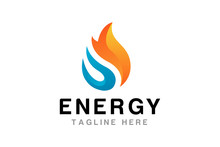 Flame Logo Design Template - Vector