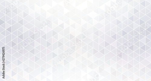 Shiny geometric white abstract background Wallpaper Mural