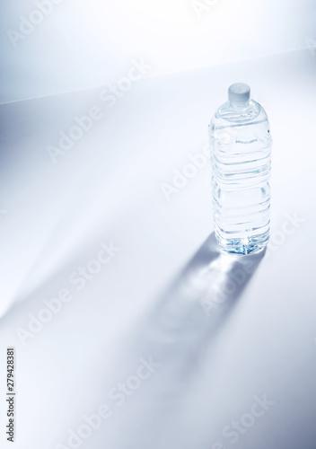 Obraz na plátně  PET bottle on white background