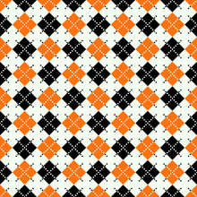 Seamless Argyle Pattern With D...