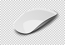 Computer Mouse Isolated On White.