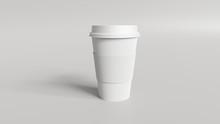 Coffee Cup Mockup 3d Render