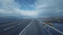 View From Skye Bridge, Scotland
