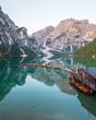 Lago Di Braies Dolomites