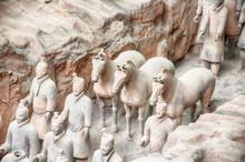 Xian Terracotta Warriors And Horses China