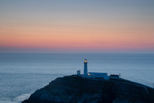 Sunset Over South Stack Lighthouse