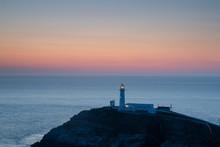 Sunset Over South Stack Lighth...