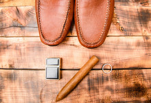 Gentleman Set For Real Men. Me...