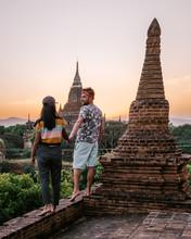 Bagan Myanmar During Sunrise, ...