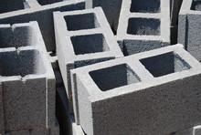Concrete Cinder Blocks, Constr...