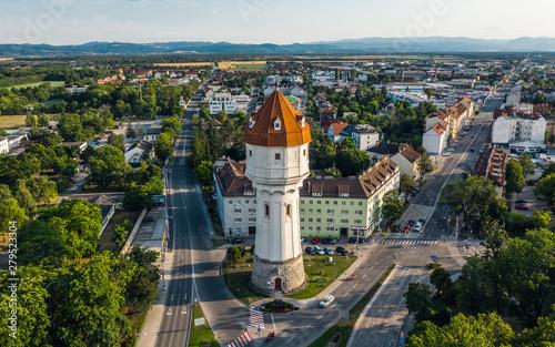 Obraz Water tower in Wiener Neustadt - fototapety do salonu
